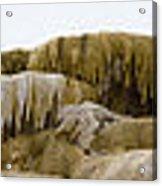 Madison Formation Panorama  16x123 Acrylic Print