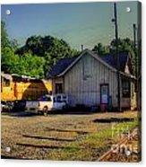 Madison Georgia Historic Train Station Acrylic Print