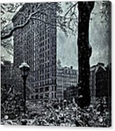 Madison Square And The Flatiron Building Acrylic Print