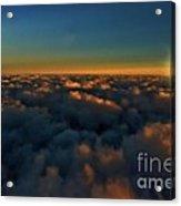 Madison Wi Sunset At 30000 Acrylic Print