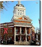Madison's Morgan County Courthouse Acrylic Print