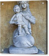 Madonna And Child Carmel Mission Monterey California Acrylic Print