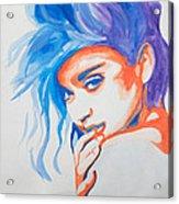 Madonna Acrylic Print by Michael Ringwalt