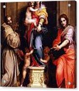 Madonna Of The Harpies Acrylic Print
