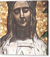 Madonna Praying Acrylic Print