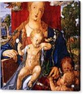 Madonna With The Siskin Acrylic Print