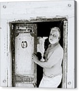 Madras Man Acrylic Print