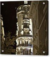 Madrid At Night Acrylic Print