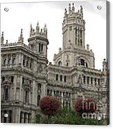 Madrid City Hall Acrylic Print