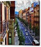 Madrid Morning Acrylic Print