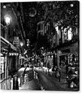Madrid Side Street Acrylic Print