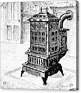 Magazine Stove, 1880 Acrylic Print