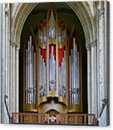 Magdeburg Cathedral Organ Acrylic Print