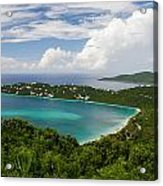 Magen's Bay From Drake's Seat Acrylic Print