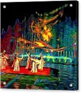 Magic Carpet Acrylic Print