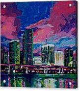 Magic City Acrylic Print
