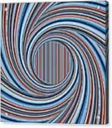Magic Colorful Abstract Twisted Background Acrylic Print