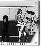 Magic Dick And J. Geils In Oakland 1976 Acrylic Print