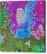 Magic Is All Around Acrylic Print by The Art With A Heart By Charlotte Phillips