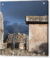 Bronze Edge In Minorca Called Talaiotic Age Unique At World - Magic Island 1 Acrylic Print