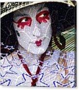 Magic Lady Goddess Acrylic Print