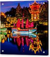Magic Of The Lanterns Acrylic Print