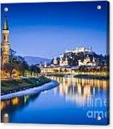 Magic Salzburg Acrylic Print