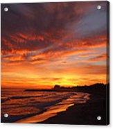 Magic Sunset Acrylic Print by Victoria Herrera