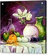 Magic Table With 3 Wishes Acrylic Print