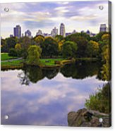 Magical 2 - Central Park - Nyc Acrylic Print