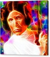Magical Princess Leia Acrylic Print