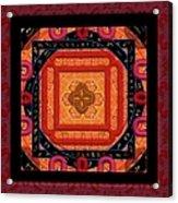 Magical Rune Mandala Acrylic Print