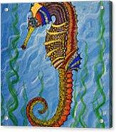 Magical Seahorse Acrylic Print