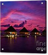 Magical Sunset Acrylic Print