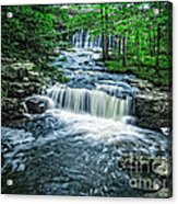 Magical Waterfall Stream Acrylic Print