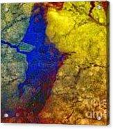 Magical Yellow 3 Acrylic Print
