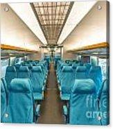 Maglev Train In Shanghai China Acrylic Print