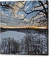 Magnetic Sunset Acrylic Print
