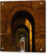 Magnificent Arches Acrylic Print by Al Bourassa