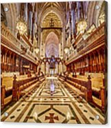 Magnificent Cathedral Iv Acrylic Print