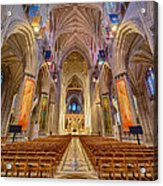 Magnificent Cathedral V Acrylic Print