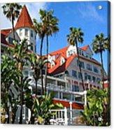 Magnificent Hotel Del Acrylic Print