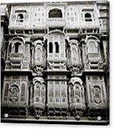 Ancient Jaisalmer Acrylic Print