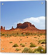 Magnificent Monument Valley Acrylic Print
