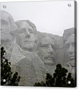 Magnificent Mount Rushmore Acrylic Print