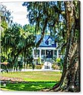 Magnolia Mansion Acrylic Print