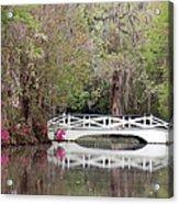 Magnolia Plantation Gardens Series IIi Acrylic Print