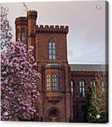 Magnolias Near The Castle Acrylic Print