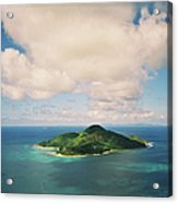 Mahé, Seychelles, From A Helicopter Acrylic Print