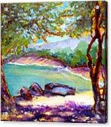 Mahai'ula Shadows Acrylic Print